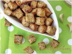 Baharatlı Kruton (Ekmek cipsi)