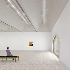 Impressie interieur Museum De Lakenhal | Restauratie & Uitbreiding ...
