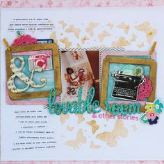 A Project by sodulce from our Scrapbooking Gallery originally submitted 01/22/14 at 09:10 PM