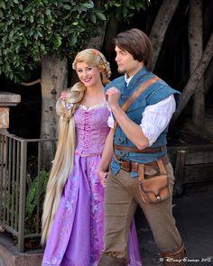 Princess Rapunzel and Flynn