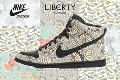 liberty X nike. The perfect high tops.