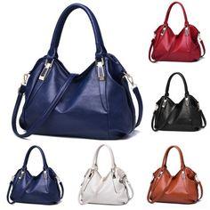 Fashion-Women-Handbag-Shoulder-Bag-Tote-Purse-Leather-Messenger-Hobo-Bag-Satchel