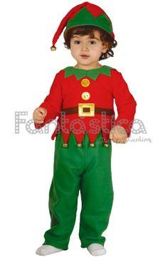 Disfraz para Bebé y Niño Elfo Navideño