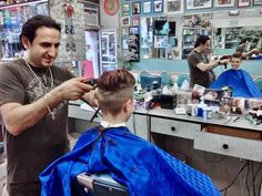 Barber Chair, Barber Shop, Fall Hair, Cool Hairstyles, Hair Cuts, Lady, People, Photography, Buzz Cuts