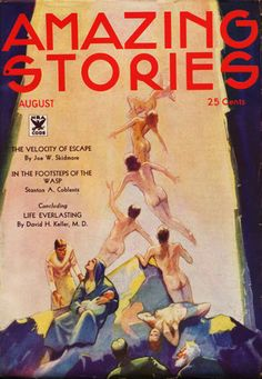 Amazing Stories, August 1934.