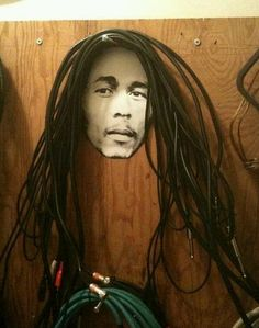 The best way to store coaxial cables, ever.