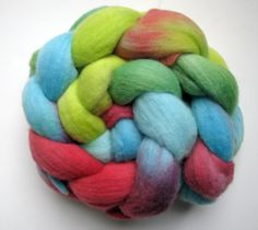Merino roving 36 oz Brights by SpinsbyNight on Etsy