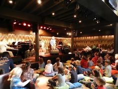 the kids loved being at the jazz club