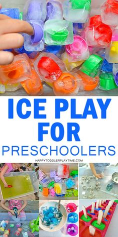 12 Creative and Easy Ways To Play With Ice Happy Toddler Playtime Science Activities For Toddlers, Water Play Activities, Lesson Plans For Toddlers, Science Crafts, Outdoor Activities For Kids, Preschool Learning, Sensory Play, Infant Activities, Toddler Preschool