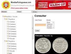 Moedas Portuguesas http://moedasportuguesas.com/index.php?a=h