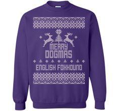 Merry Dogmas English Foxhound T-Shirt