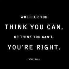 The mind is a powerful thing ♥