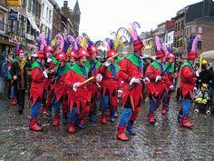 The Carnival of Binche, Belgium