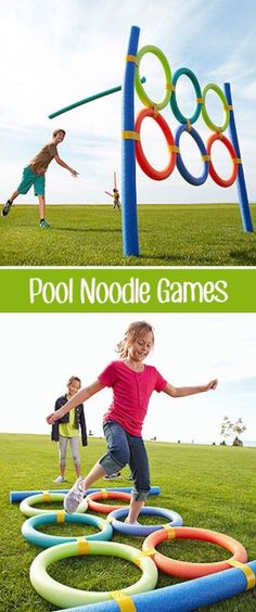 Over 30 of the BEST Backyard Games. These backyard games are great for kids but make for great outdoor games for adults also. Have fun! Outdoor Games For Kids, Outdoor Fun, Party Outdoor, Indoor Games, Outdoor Toys, Ninja Games For Kids, Outdoor Ideas, Kids Outdoor Activities, Outside Games For Kids