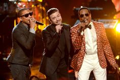Pharrell Williams, Justin Timberlake And Charlie Wilson | 2013 BET Awards...Classic Performance