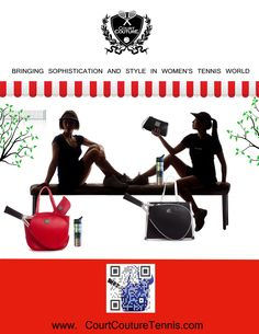 Court Couture 2014 Catalog Pg.1 Tennis Bags, Tennis World, Catalog, Gym, Couture, Women, Style, Swag, Brochures