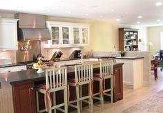 Kitchen with Islands Floor Plans   island kitchen - open floor plan