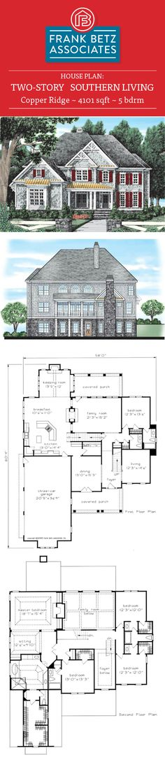 bucknell place 3047 sqft 4 bdrm classic southern living house plan