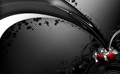 Stunning 50 Black Wallpapers for Desktop