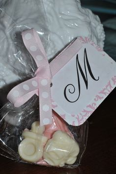 Favors for a baby shower