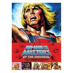 Art of He-Man and the Masters of the Universe Hardcover Book