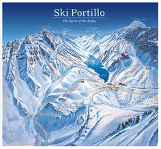 Portillo, Chile  I always wondered how cool it would be to travel here and ski during the summer.