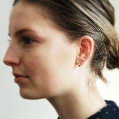 Bar Earring Goldplated