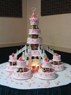 photo gallery quinceanera church decorations | Celebrations Quinceanera Cakes - Chocolate Recipes | Cake Galleries ...