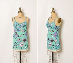 vintage 60s / 70s Emilio Pucci designer lingerie by StopTheClock on Etsy