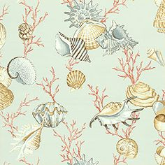 Thibaut Laguna - Na Pali - Wallpaper - Aqua (comes in different background colours)