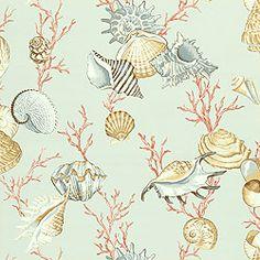 Thibaut Laguna - Na Pali - Wallpaper - Aqua (comes in different background colours)
