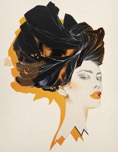 Unititled, 2006, personal work. Cecilia es a mi parecer una gran ilustradora de moda.  Sus ilustraciones son un trabajo moderno y colorido, que transmite belleza e inspira en la moda y el arte. En este enlace podreis conocer más sobre su obra http://www.ceciliacarlstedt.com/