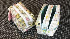 2 Zipper Travel Bag/Pencil Case