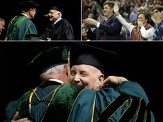 Ted Carroll had waited 50 years for this day. Even cancer couldn't keep the 71-year-old from, at last, receiving his diploma and calling himself a #Baylor graduate.