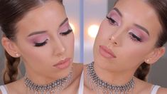 Pink Monochromatic Makeup Trend Tutorial | LUSTRELUX - YouTube
