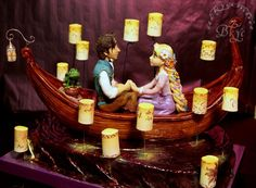 Um...this is cake...I'm so impressed there aren't even words. Found here: http://cakecentral.com/g/i/3069455/a/3384860/cake-on-the-cartoon-rapunzel-tangled-modeling-without-the-use-of-molds/