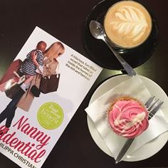Thursday mornings = coffee + cupcake + a sneaky chance to indulge in my new book by @number_1_nanny #thecupcakequeens  #nannydiaries #nannylife