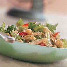 Chicken Caesar Salad | MyRecipes.com #MyPlate #protein #vegetable