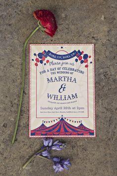 Fun & Colorful Vintage Carnival Wedding Ideas