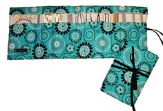 Knitting Needle Case, Knitting Needles, Sewing Tutorials, Sewing Projects, Bag Tutorials, Crochet Case, Bra Hacks, Idee Diy, Couture