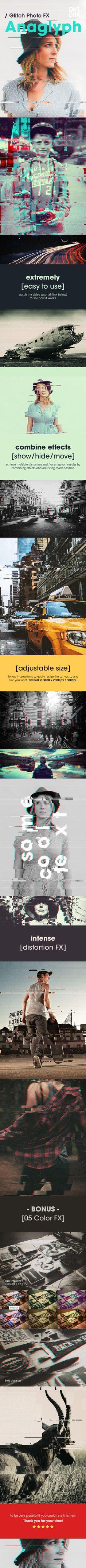 Anaglyph - Glitch Photo FX on Behance