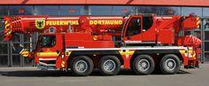 Kranwagen Berufsfeuerwehr Dortmund