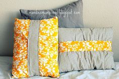 pleated pillow covers
