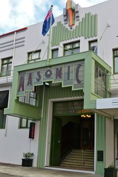Masonic Lodge   Napier, New Zealand