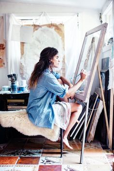 "ATP Atelier Weekend ""Draw me like one of your french girls.."" #messy #pretty #paint #bohemian photo-by-Anais-and-Dax1.jpg (600×900)"