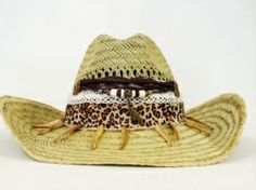 "Melissimmo Ibiza beach hat ""Tiger Lilly"""