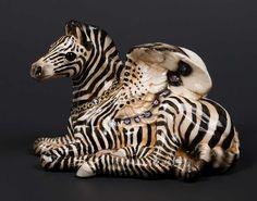 Baby Pegasus - Zebra Test Paint #1