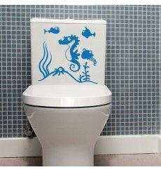 Sticker WC aquarium avec poissons | Fanastick.com Stickers Wc, Stickers Citation, Aquarium, Bathroom Accessories, Wall Decals, Decoration, Diy, Shabby Chic, Houses