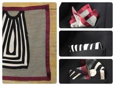 One pochette.. 3 look..!!! How to a pouch style by Caterina Quartana...  www.caterinaquartana.it