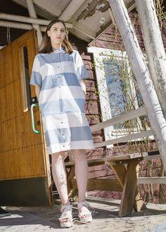 WST x Marimekko second hand Hand Photo, 50 Years Old, Marimekko, Two Hands, Editorial, Shirt Dress, Model, Shirts, Clothes